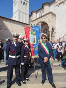 Il Sindaco Bacheca ad Assisi