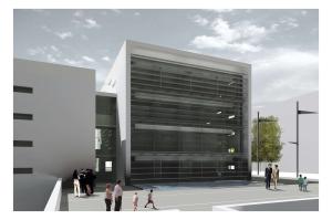 foto progetto ex nuova sede comunale
