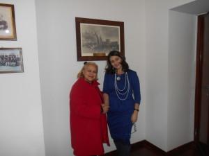 Direttrice  Casa di Recl. D.ssa Anna Angeletti  con Pina Tarantino