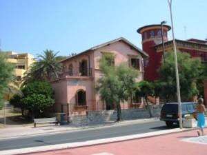 Una foto della Casetta Rosa.
