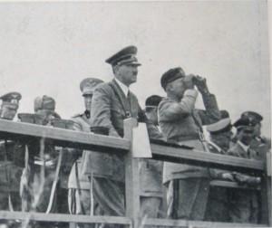 foto Hitler e Mussolini a S.Marinella