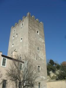 La torre del castello di Torrimpietra