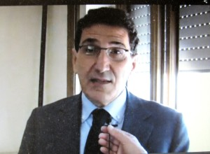 Il Dottor Antonio Rosati.