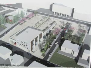 Progetto della nuova piazza
