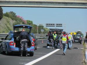 Tragico incidente stradale sulla Via Aurelia