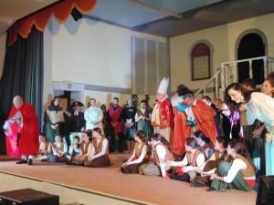 La compagnia teatrale Percuoco.