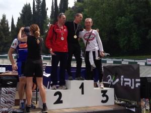 Pierluigi Stefanini podio granfondo forano 2015