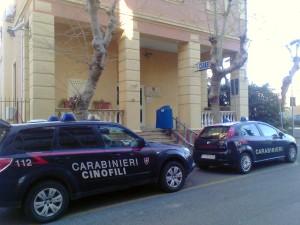 La caserma dei Carabinieri di Santa Marinella