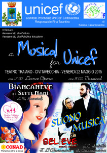 Musical for UNICEF  mag 2015