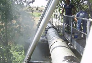 Condotta dell'acquedotto del Mignone foto tratta da Consorzio dell'Acquedotto per il Medio Tirreno