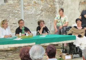 Presentazione del libro presso il Cortile delle Barrozze a Santa Severa