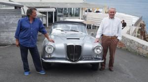 La Lancia Aurelia B24 in produzione negli anni '50