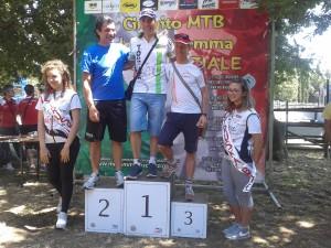 Lorenzo Borgi podio Roccaccia
