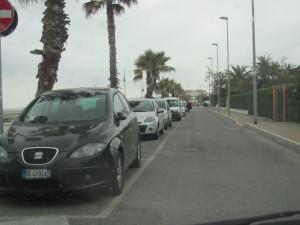 parcheggi lungomare pyrgi