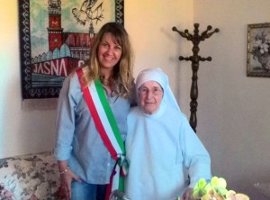 La consigliera Patrizia Befani e suor Maria Alessia Parrillo