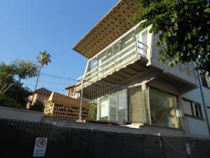 La biblioteca comunale ancora in fase di restauro