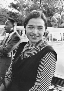 ROSA PARKS E LUTHER KING