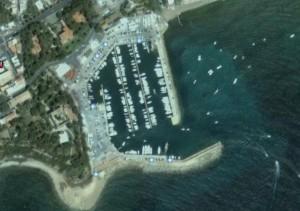 Vista aerea del porto.