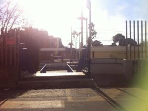 ingresso stazione lato via IV Novembre