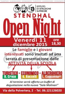 PER NEWS -OPEN NIGHT-