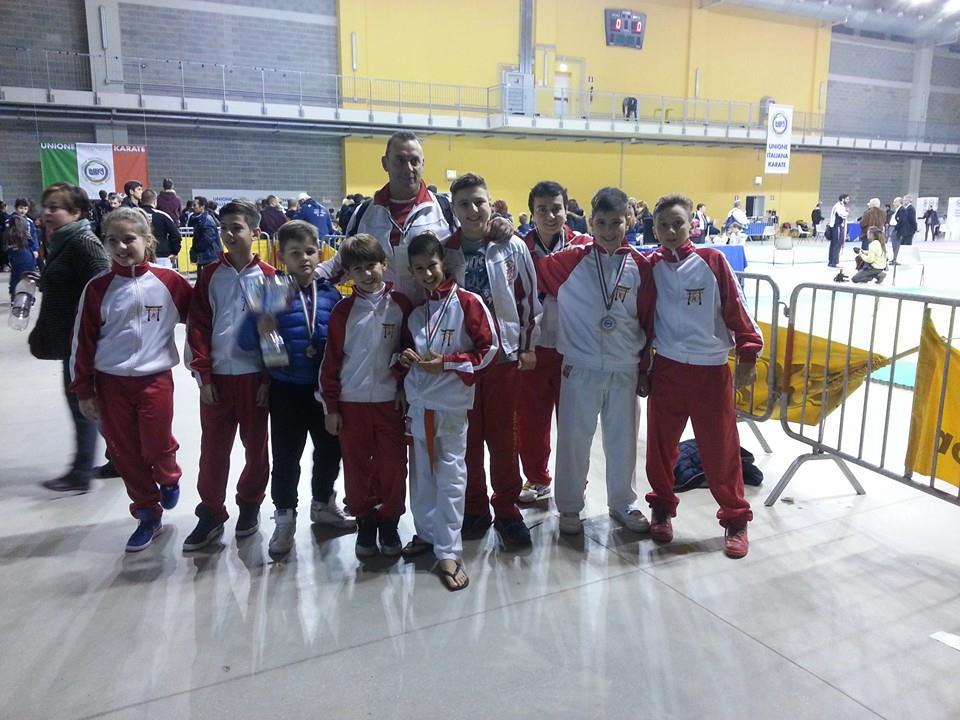 Il Goshin Karate Dojo ai campionati italiani Unika