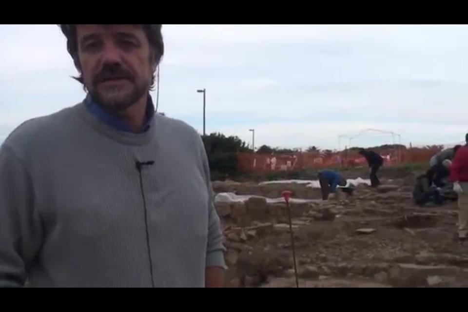 Le scoperte di Castrum Novum spiegate a Roma dal Dott Enei