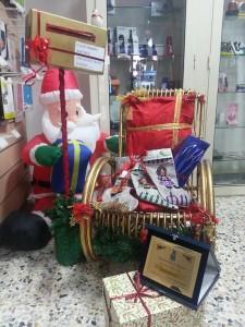 La sedia di Babbo Natale