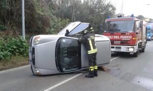 La foto dell'incidente.