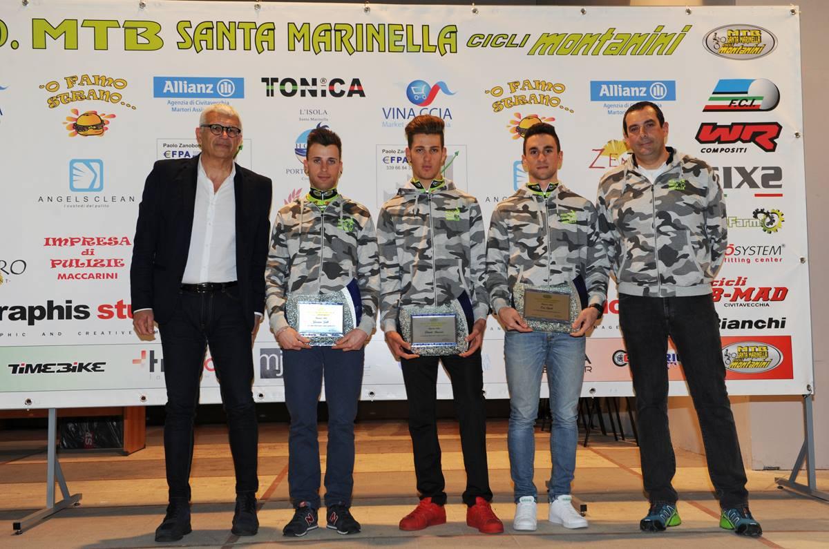 Mtb Santa Marinella-Cicli Montanini: è qui la festa nel segno dei colori nero-verde fluo
