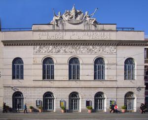 Foto del Teatro Argentina di Roma.