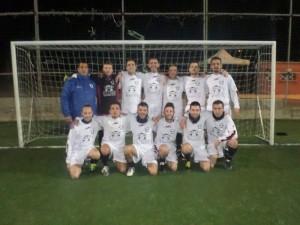 La squadra del Calcio Amatori Santa Marinella