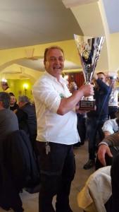 il Presidente del Vespa club Santa Marinella Fiorucci Giancarlo
