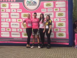 mtbsan2016 davide borgna maglia rosa giro handbike