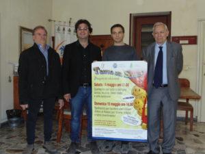 La foto della conferenza stampa dell'evento.