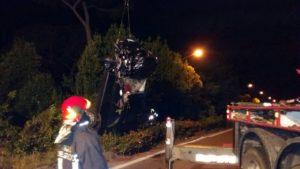La foto dell'incidente stradale.