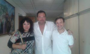 foto con Sebastiano Somma
