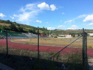 Il campo sportivo di Santa Marinella.