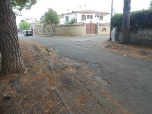 Una foto di via Lombardia.