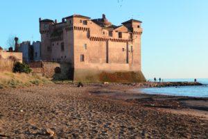 La foto del Castello di Santa Severa.