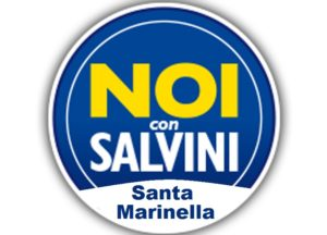 Il simbolo di Noi con Salvini Santa Marinella.