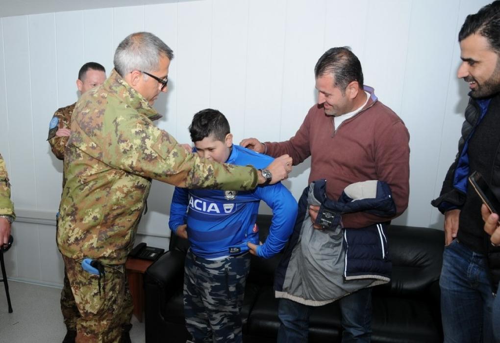 Unicef: il volo della speranza di un bambino dal Libano in Italia
