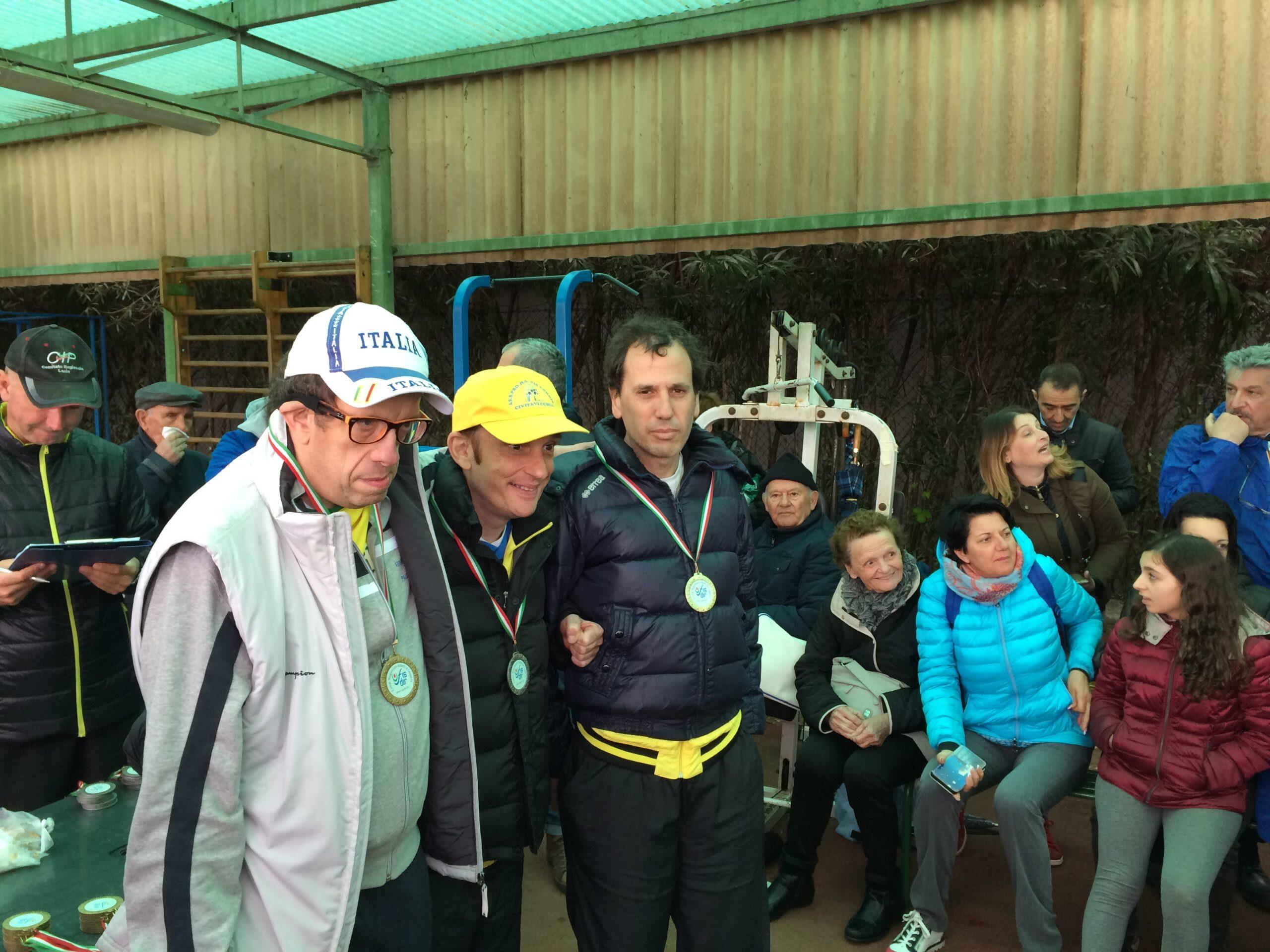 Grandi risultati anche nell'atletica leggera per l'AS.S.Pro.Ha. Vis Cordis, alle gare regionali tenute a Latina