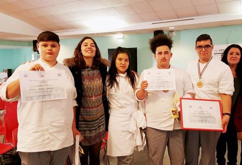 Gli studenti del Cappannari si fanno onore allo Show Cooking Contest di Velletri