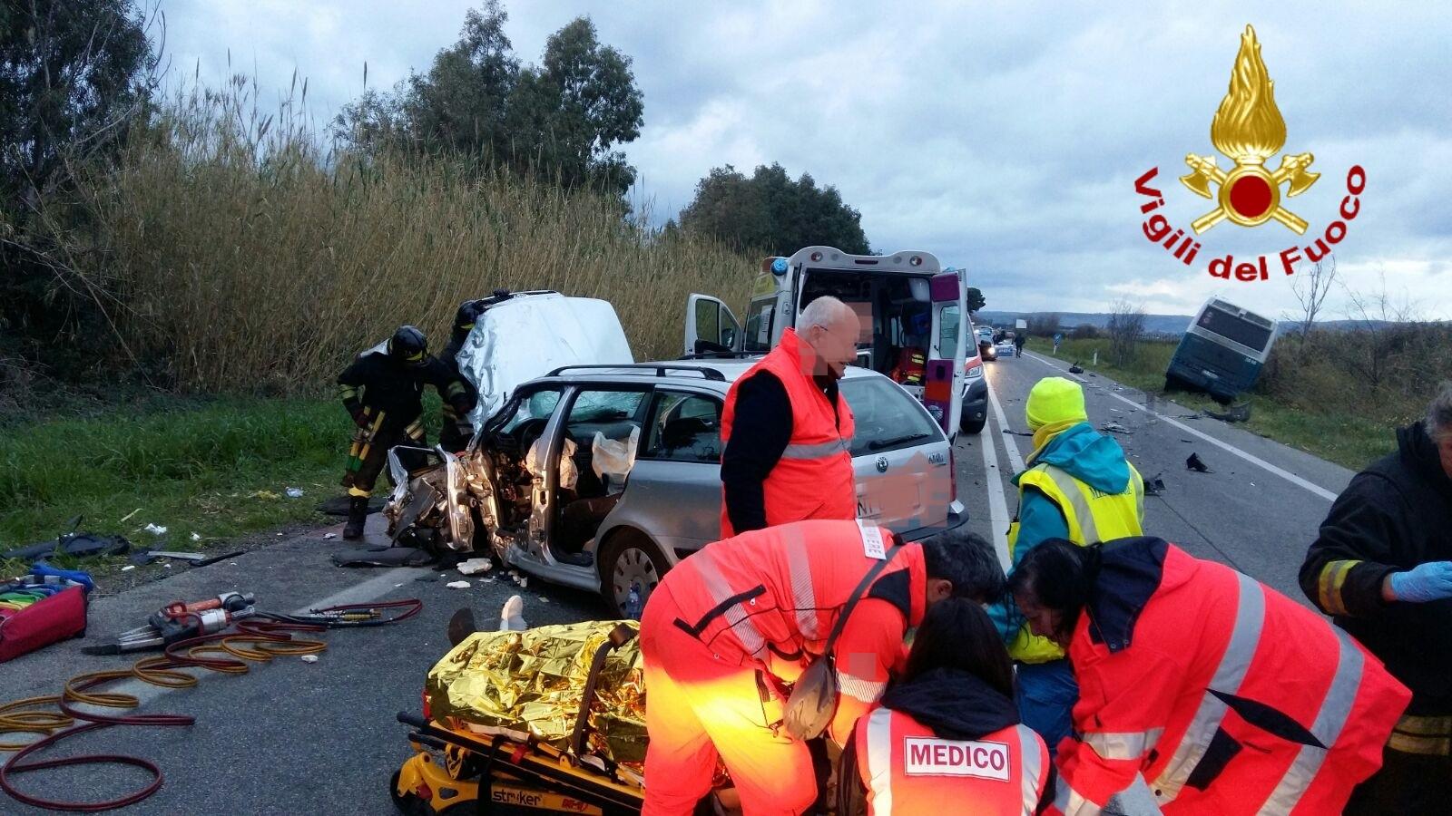 Due incidenti gravi sulla via Aurelia