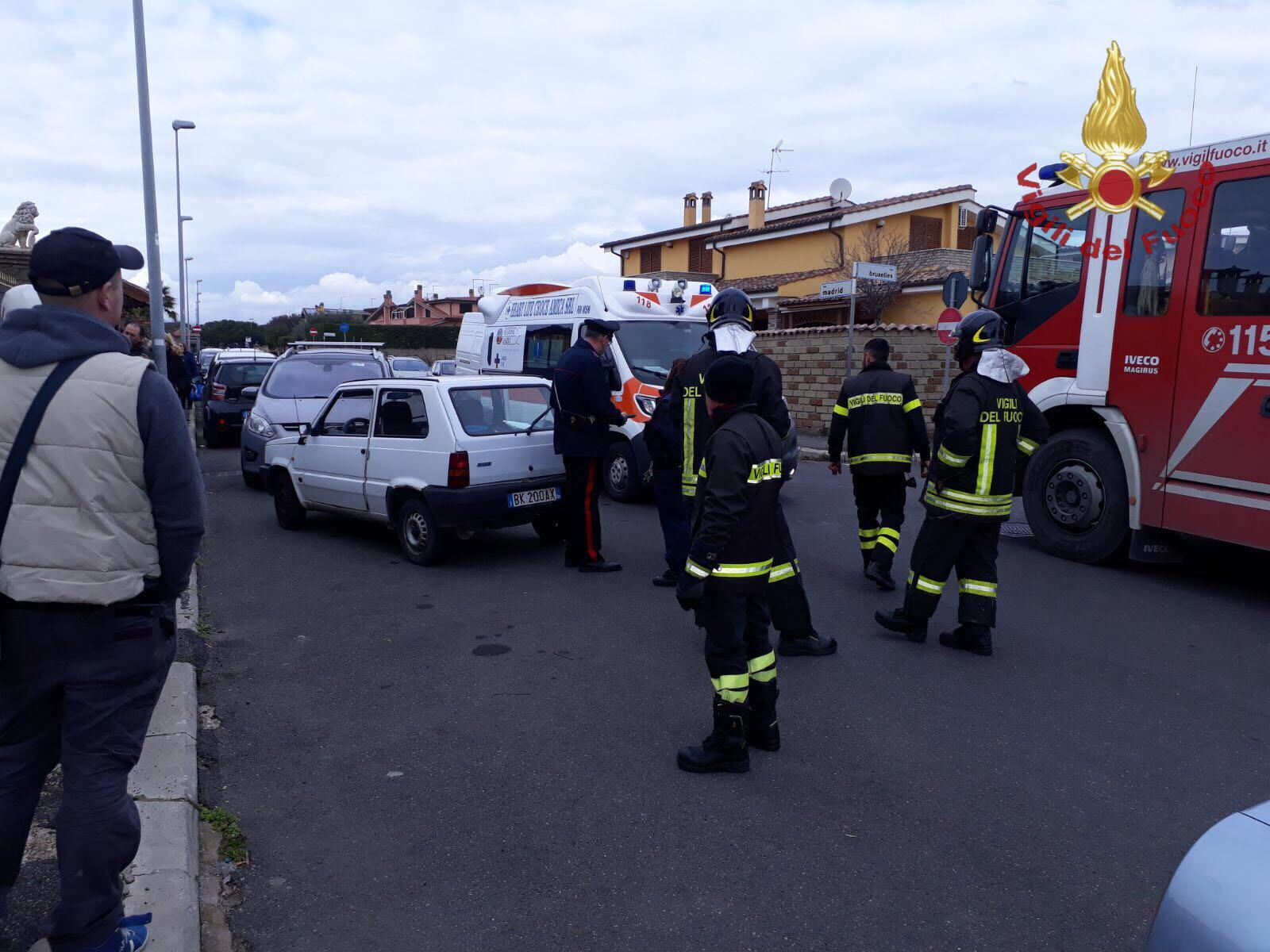 Ladispoli: incidente stradale con feriti in zona Cerreto