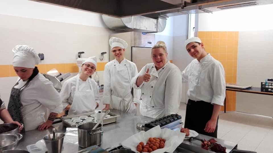 Gemellaggio gastronomico tra l'Alberghiero Cappannari e l'Arstad Skole di Bergen