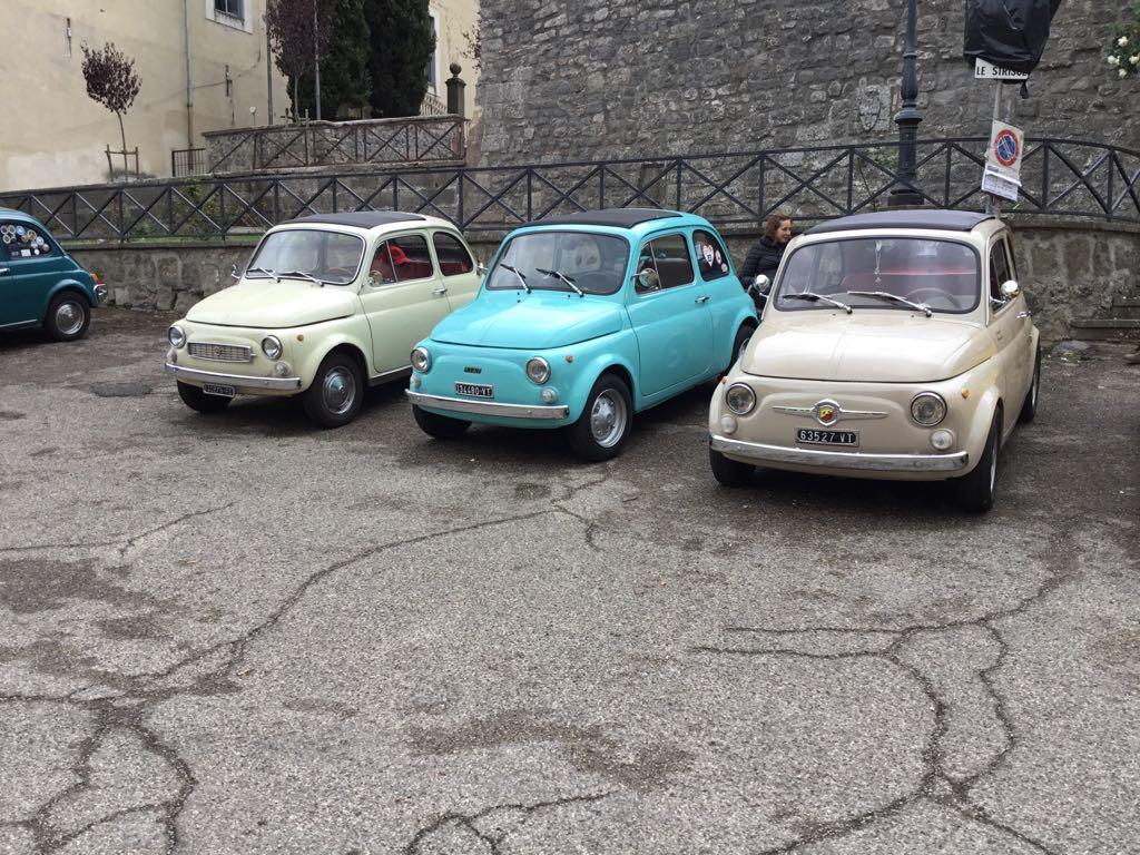 Castello di Santa Severa: arrivano la Fiat 500 d'epoca
