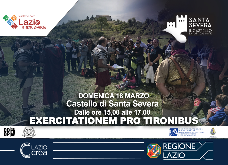"Castello di Santa Severa: arrivano i Legionari nella "" Excertationem  pro tirobonus"""