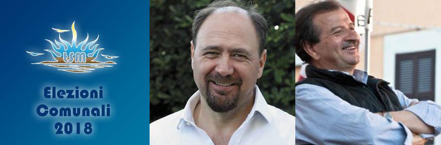 Elezioni comunali 2018: Pietro Tidei e Bruno Ricci andranno a ballottaggio