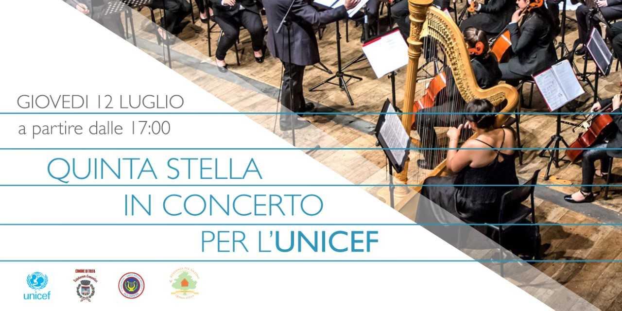 UNICEF: a Tolfa un concerto per ricordare i bambini in fuga